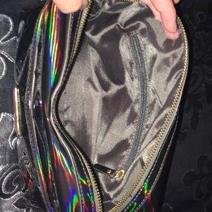 Jeffree Star Bags - Jeffree star black holographic makeup bag